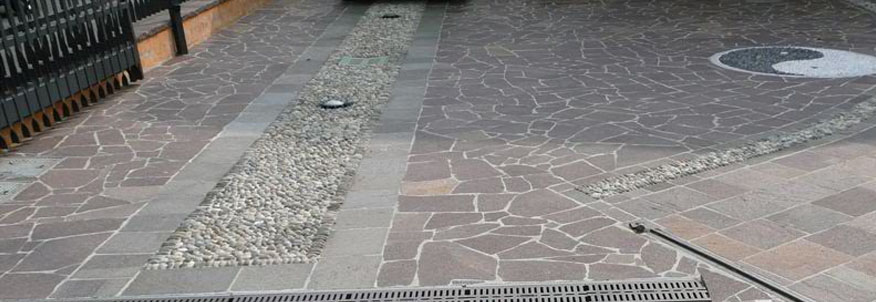 Natural stone psi pavements concreting services for Garage flooring adelaide